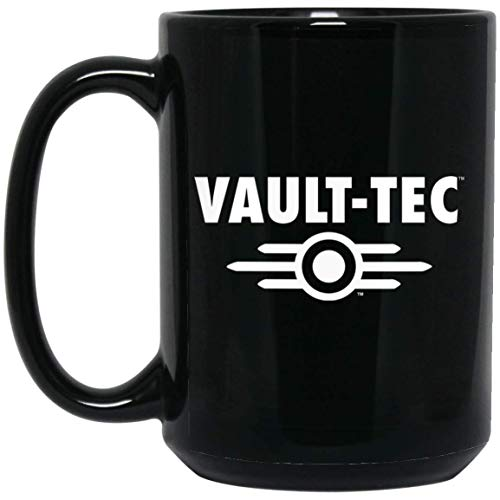 Official Fallout Heat Changing Black Coffee Mug Ceramic Mug with Explosion Effect