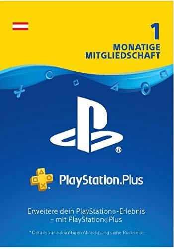 PlayStation Plus 1 Monat Mitgliedschaft - 1 Monat Edition | PS4 Download Code - österreichisches Konto