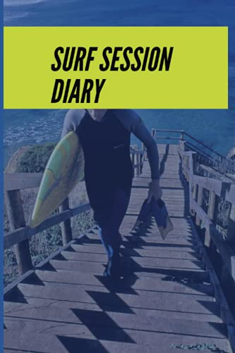 Surf Session Diary: Track every session in the surf in one place with his handy guide for travelling and local surfers