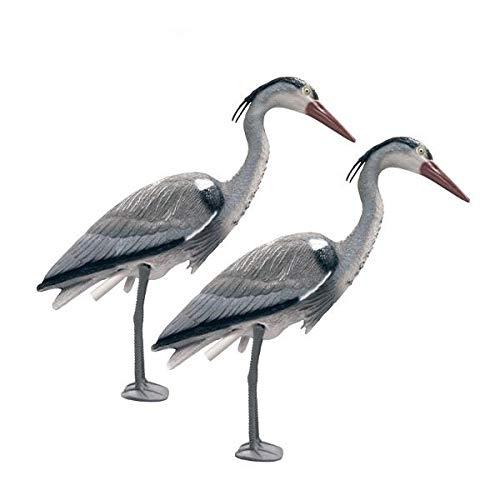 Decoy Heron Pond Predator Deterrant - Twin Pack