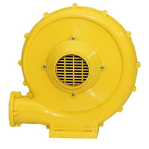 DBGA Ventilatore di Aria del Castello Gonfiabile, Ventilatore Gonfiabile Commerciale con Pompa a Ventola Portatile e Potente, Giallo
