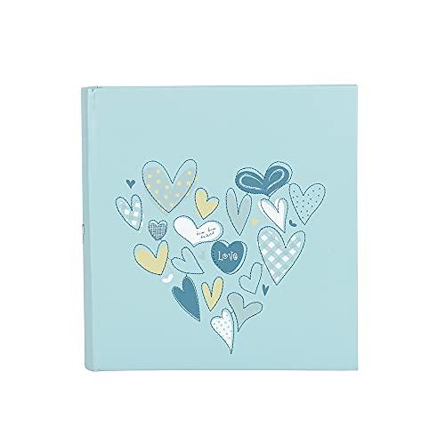 "Azul 6x 4,5""Corazon álbum de fotos"