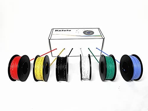 Cable Electrico, Cable de Silicona de Cable de cobre estañado, suave y...