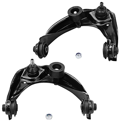 Detroit Axle - Front Upper Control Arm w/Ball Joint Assembly Replacement for...