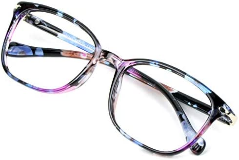 Blue Light Blocking Glasses for Women Anti Eyestrain Computer Reading TV Glasses Stylish Square product image