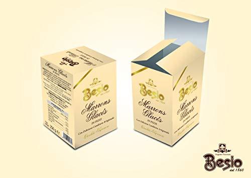 Besio Marrons Glacès In Pezzi, 250 gr