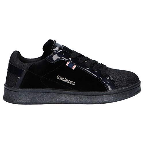 LOIS JEANS Sneaker für Damen und Mädchen 83858 26 Negro Schuhgröße 34