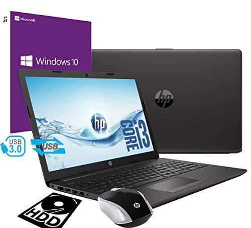 Notebook HP i3 250 G7 Portatile Display da 15.6' Cpu Intel core i3-7020U 2,3Ghz /Ram 4Gb DDR4 /HD 500GB /VGA INTEL HD 620 /Hdmi Dvd Rw Wifi Bluetooth /Windows 10 pro /Open Office /Mouse Wifi HP