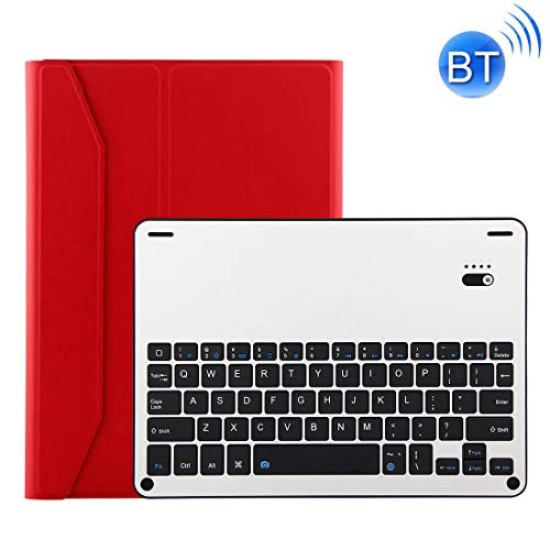 GALIMAXIA Detachable Bluetooth 3.0 Aluminum Alloy Keyboard + Lambskin Texture Leather Case for iPad Air/Air 2 / iPad Pro 9.7 inch, with Water Repellent/Three-gear Angle Adjustment/Magnetic/Sle