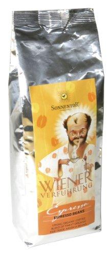 Sonnentor Espresso ganze Bohne Wiener Verführung, 1er Pack (1 x 500 g) - Bio