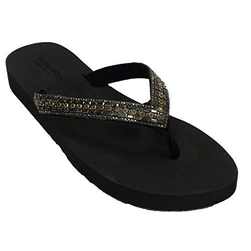 GIOSEPPO Zapato Color Negro Talla 39