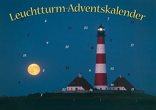Mit Leuchttürmen durch den Advent: Fotos von Nord- und Ostsee