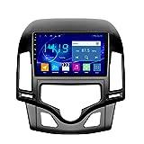 Flower-Ager Android Car Radio para Hyundai I30 2006-2011 Navegación GPS 2.5D Pantalla Táctil Capacitiva De Bluetooth Car Stereo Player WiFi FM Radio,Automatic