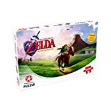 Winning Moves-29506 Puzle, Color The Legend Zelda Ocarina of Time 1000pc (29506)