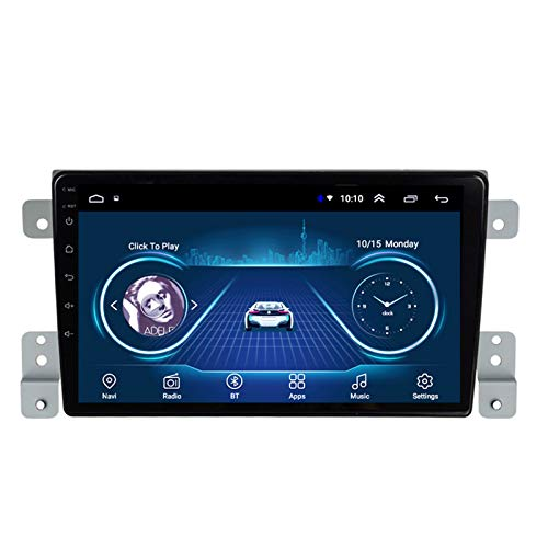 LHMYHHH El Reproductor Multimedia para Automóvil Es Adecuado para Suzuki Super Vitra 2005-2015 Android Car con Navegación GPS Bluetooth Máquina Integrada Navegación Táctil Completa 1G + 16GB