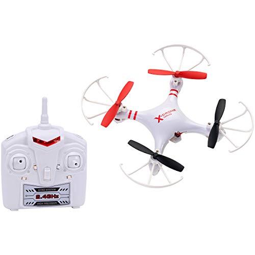Spidko 37463 - Drone B/O 3 velocità R/C, 13.2 x 13.2 x 4 cm