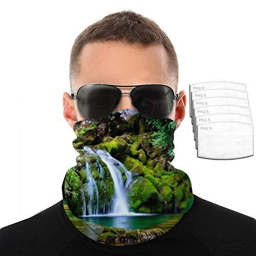 NA Vercors Forest Fall Bandana – Outdoor-Kopfbedeckung, Schal, Bandana, breites Stirnband, Kopftuch, Sturmhaube, Maske, Multifunktionstuch