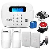 Sky God Sistema Alarma Seguridad gsm 3G / 4G WiFi para Equipos Alarma Antirrobo Domésticos y Corporativos para Una...