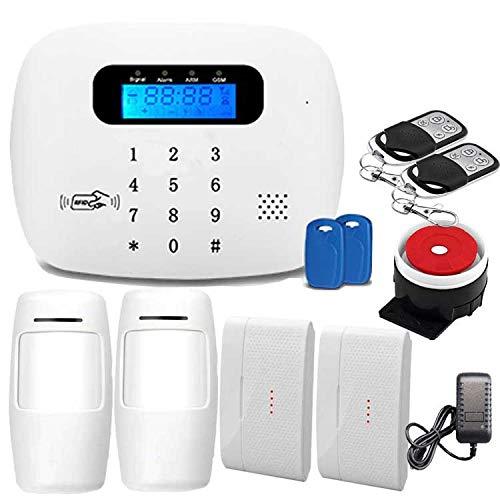 Sky God Sistema Alarma Seguridad gsm 3G / 4G WiFi para Equipos Alarma Antirrobo Domésticos y Corporativos para Una Fácil Instalación
