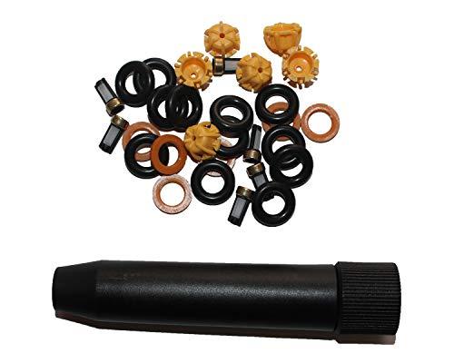 6 Set Fuel Injector Repair Seal Kit for BMW E36 E46 E39 FJ357