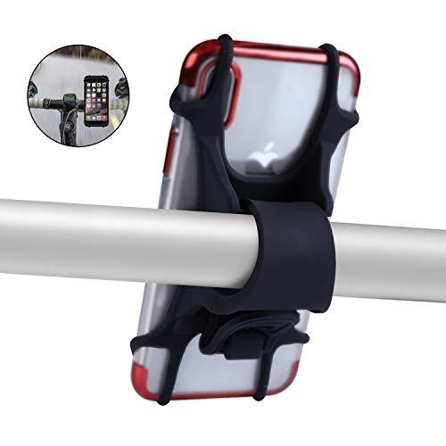 COSOOS Silikon-Fahrrad-Handyhalter für 4,5-6,5