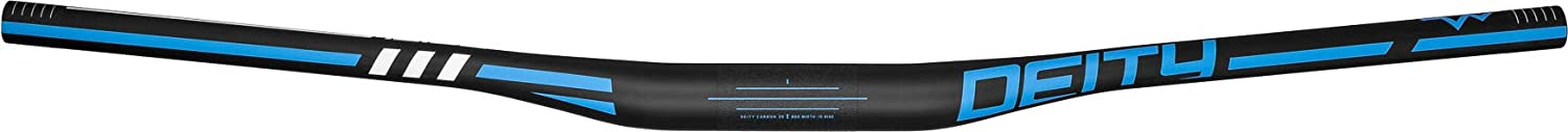 Deity Skywire 15mm Rise 35x800mm Carbon Handlebars blueee