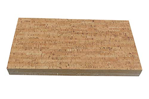 "1/4"" (6mm) Forna Glue Down Cork Tiles- Silver Birch Cork Plank Flooring 22SF Per Package"
