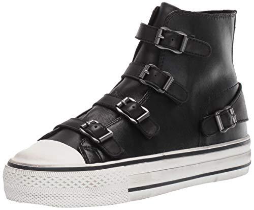 ASH Women's Virgin Sneaker, Black, 8 M US