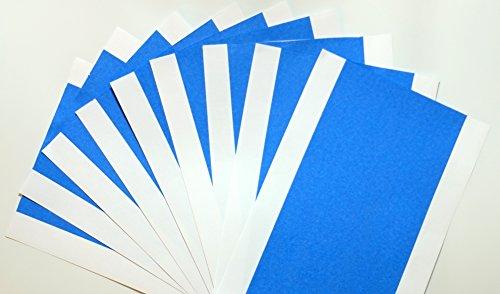 Confezione da 10adesiva Blue Tape per stampante 3d MakerBot Replicator 22x e altri per 3d Printer