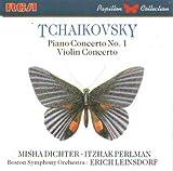 Violin Concerto / Piano Concerto 1 by Tchaikovsky