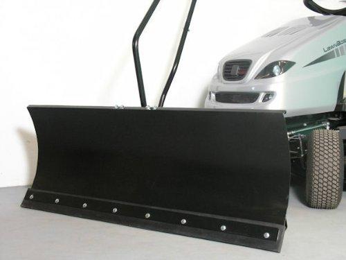 Axxom Schneeschild, 118x50 cm, für Rasentraktoren