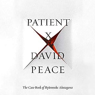 Patient X audiobook cover art