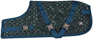 ZEEZ Supreme Dog Coat Size 30 (76cm), Peacock Green/Teal