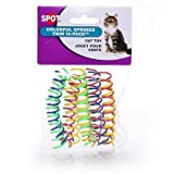HDP Spot Cat or Kitten Colorful Thin Springs Size:Pack of 20