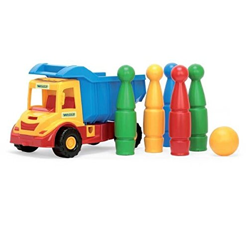Wader - 2078184 - Multi Truck avec Jeu De Quilles