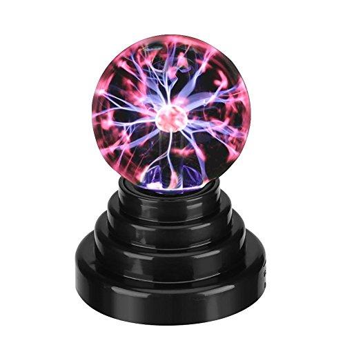 Plasma Ball Plasma Fulmini e Scariche Elettriche Luce Magic USB Plasma Ball Lampo della Sfera Magica Luce Sfera Lampada al Plasma USB della Luce