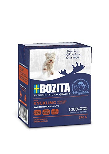 Bozita Naturals Junior HiG Hühnchen 370g Tetra Pack Hunde Nassfutter