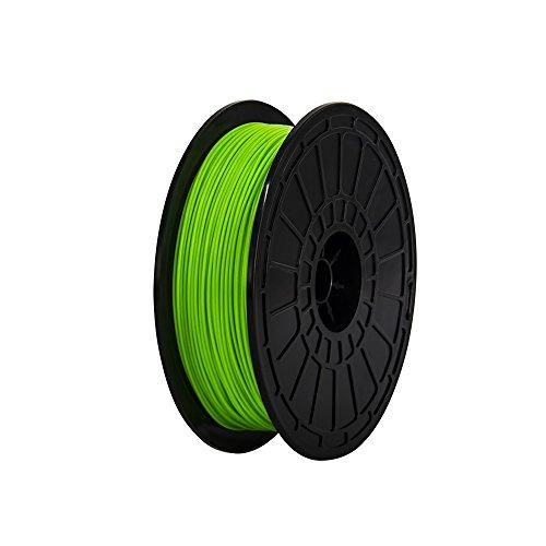 1.75mm ABS Green 3d Printer Filament-N.W.:0.6 kg Per Spool for FlashForge Dreamer 3D Printer, not for Finder