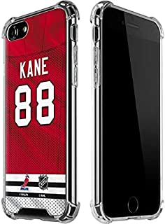 Skinit Clear Phone Case for iPhone 7 - Officially Licensed NHL Players Chicago Blackhawks #88 Patrick Kane Design
