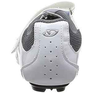 Giro Techne W Womens Road Cycling Shoe − 39, White/Silver (2020)