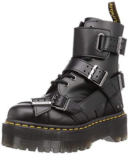 Dr. Martens Damen Stiefelleten Boots Jadon Strap Smooth Schwarz 38 EU