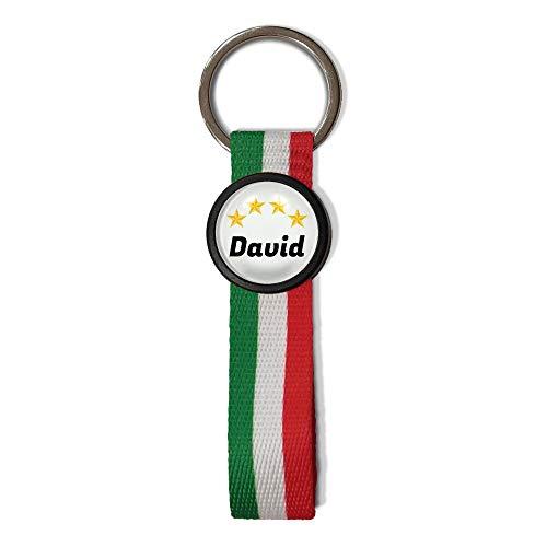 Llavero Italia Personalizado con Nombre. Llavero Textil con...