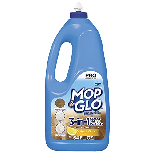Mop & Glo Professional Multi-Surface floor cleaner will clean, shine and protect. Our SHINE LOCK...