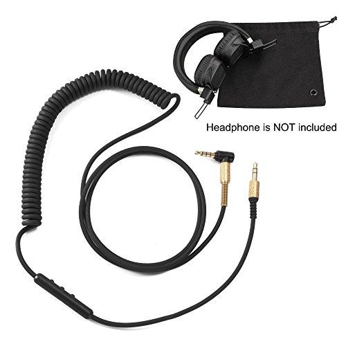 puissant Avec un câble audio auxiliaire de 3,5 mm de remplacement (avec microphone) pour XCSOURCE…