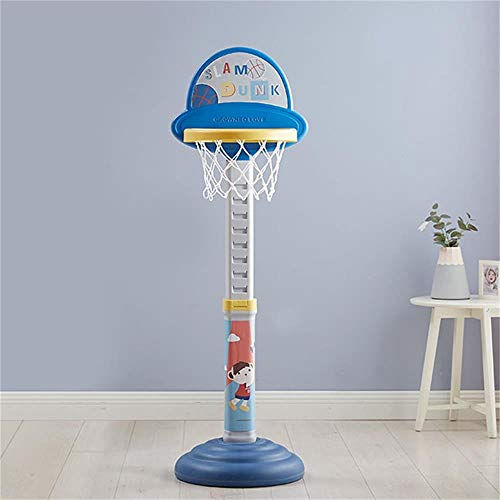 XINGLIAN Kinder Basketballkorb Höhenverstellbar 105-145 cm Haushalt Innen Außen Sport Eltern-Kind-Spielzeug Basketball Rack