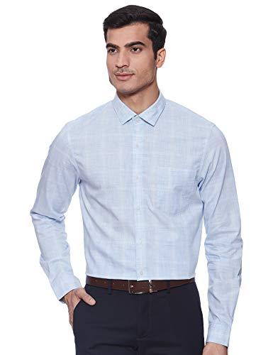 Arrow New York Men's Checkered Slim fit Formal Shirt
