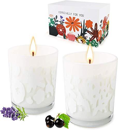 candele profumate vetro YUE GANG Fragranze Lavanda