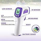 Immagine 1 urhome termometro febbre infrarossi professionale