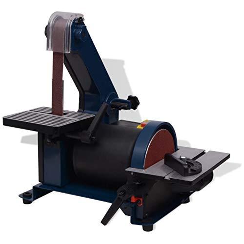 vidaXL Bandschleifer 300W Schwenkbar Tellerschleifmaschine Bandschleifmaschine