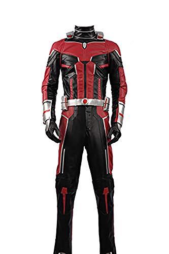 Cosplayfly Disfraz de Ant-Man y la Wasp Scott Lang para Fiesta de Disfraces de Halloween